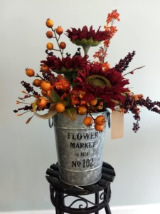 Flower All In Blooms Florist lovely Autumn bouquet Roses