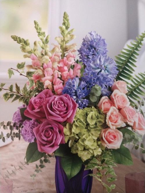 Flower All In Blooms Florist lovely flowers in vase Roses