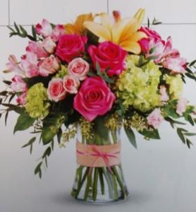 Flower All In Blooms Florist flowers in vase Roses