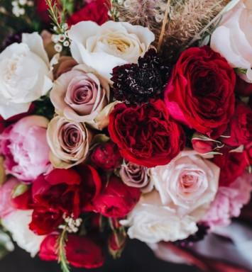 Flower All In Blooms Florist lovely silk flowers Roses