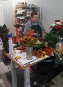 Flower All In Blooms Florist female florist Roses