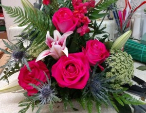 Flower All In Blooms Florist pretty arrangement Roses